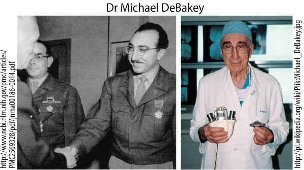 Dr Michael DeBakey mini