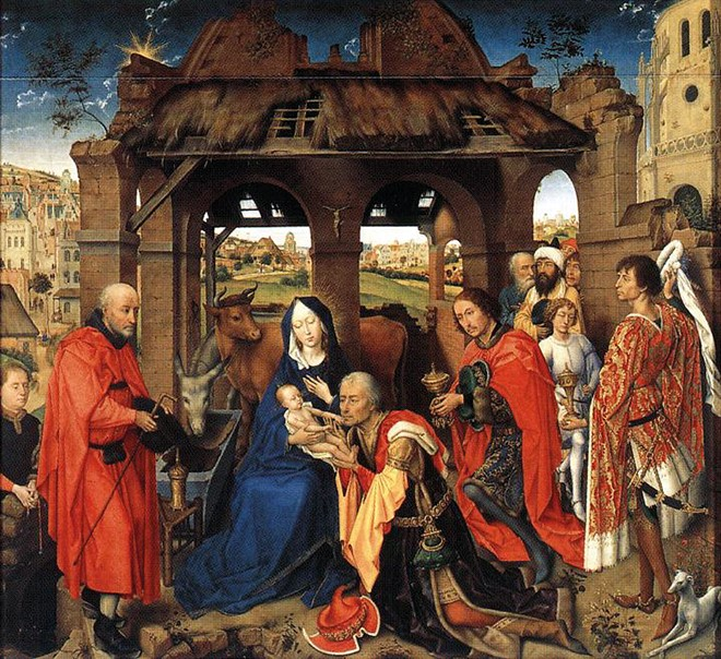 Adoration of the Magi WGA Weyden 660