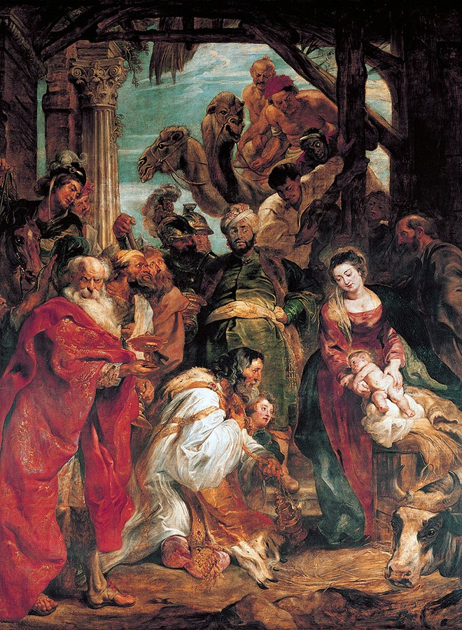 Peter Paul Rubens - The Adoration of the Magi - WGA20244 660