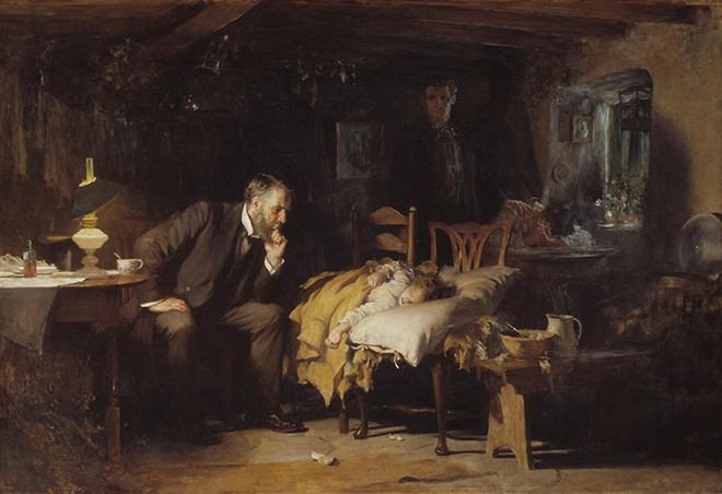 The Doctor by Luke Fildes660