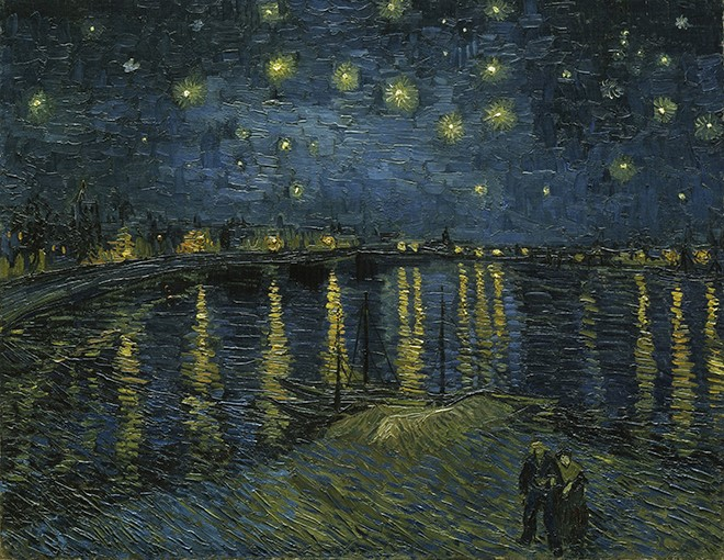Vincent van Gogh Starry Night Google Art Project660
